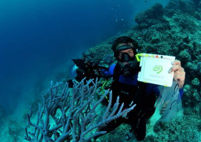Seagate Great Barrier Reef Legacy Campaign