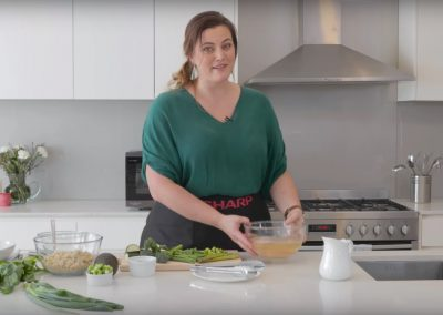 Elena Duggan for Sharp – Microwave