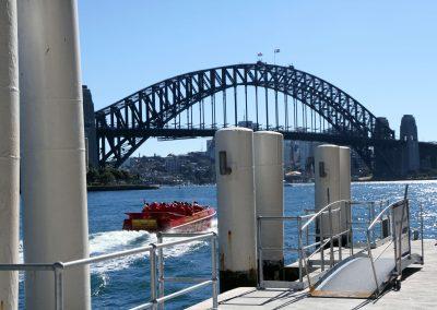 Sydney Harbour NAS Launch