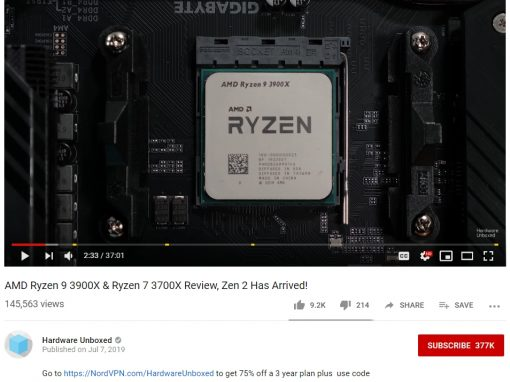 AMD Ryzen 3000 Series Launch