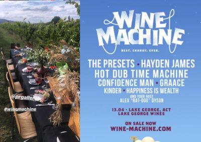 Wine Machine Music Festivals