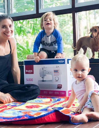 Brother Simplicity Mother's Day Campaign - Influencer @fitnessinthecity