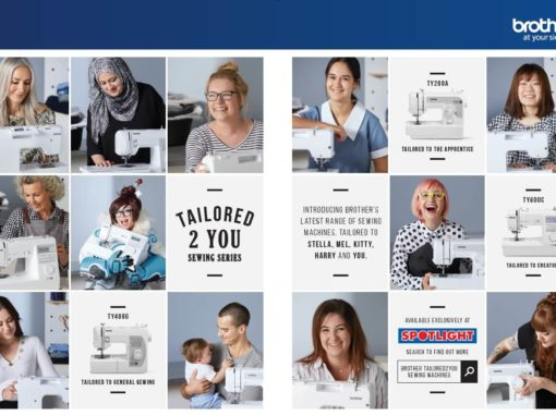 Brother 'Tailored 2 You' Sewing Campaign