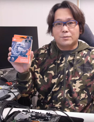 Seagate Japan - Influencer @uedax