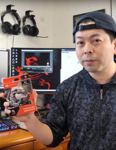 Seagate Japan - Influencer Uzumax