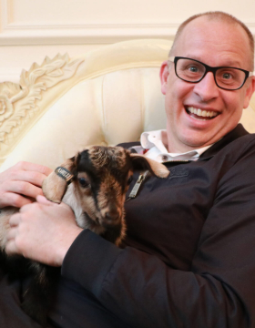WD Press Launch: Photo shoot with Baby Animals!