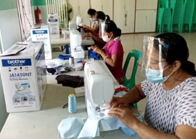 Oikos Helping Hand Rolls Out Brother Sewing Machines to Create Face Masks